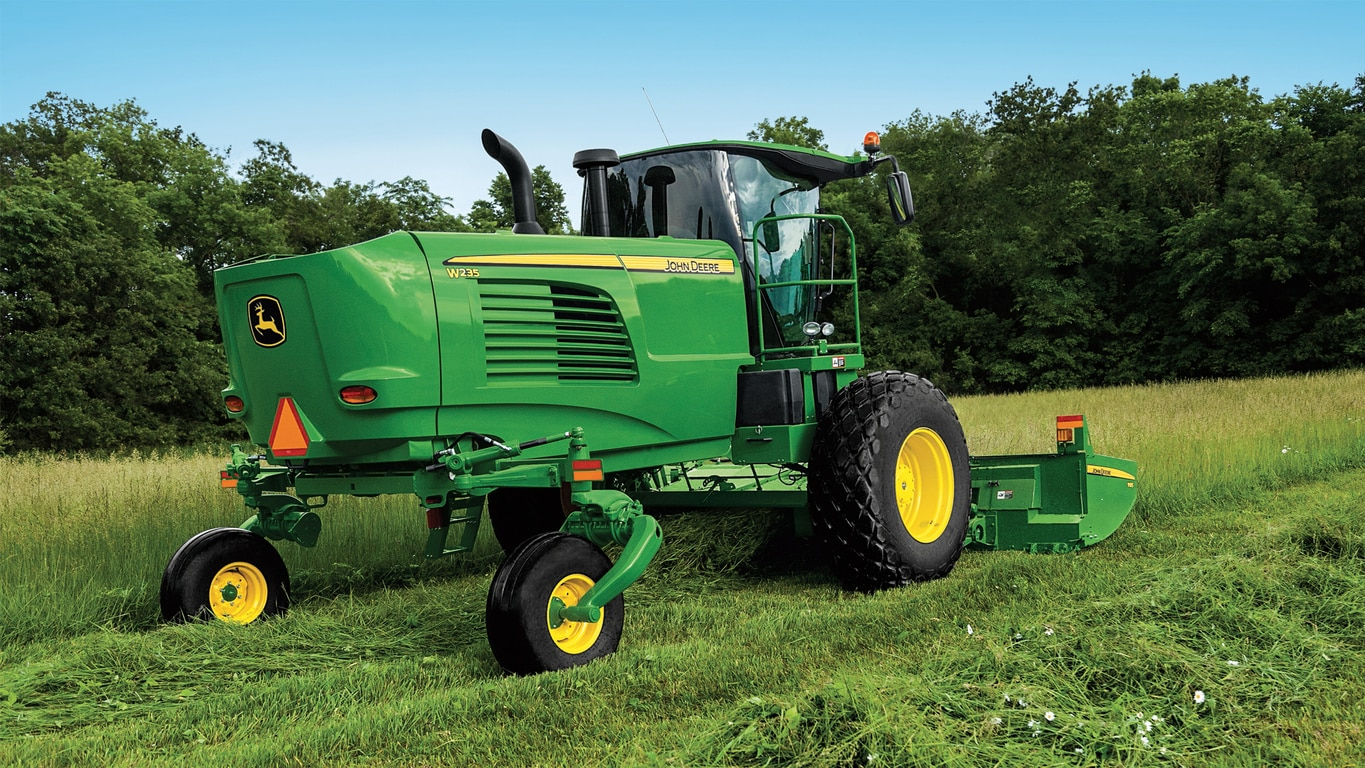 W235 Windrower - New Self-Propelled Windrowers - West