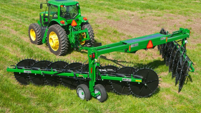WR54 Series Heavy-Duty High-Capacity Overhead Frame Rakes