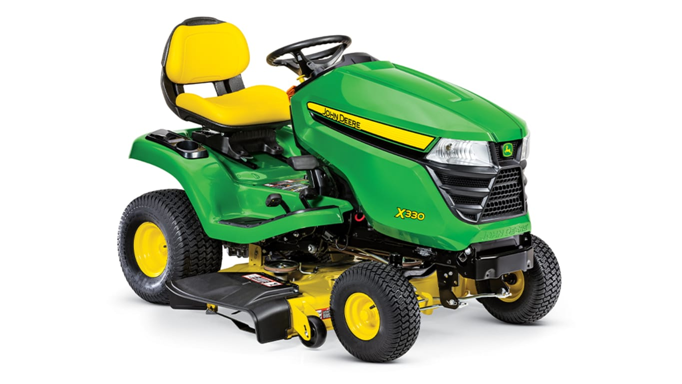 "X330 Lawn Tractor with 42-inch Deck - New Riding Mowers ... John Deere D Wiring Diagram on john deere d101, john deere la135, john deere attachments, john deere mower discharge chute, john deere d155, john deere 42 inch lawn mower, john deere 108, john deere 125 wiring diagram, john deere 1026r, john deere d120, john deere rear tires, john deere d117, john deere riding lawn mowers, john deere 42"" mower bagger, john deere d110, john deere d104, john deere la115, john deere electrical schematics, john deere l110,"