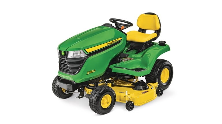 X330 Lawn Tractor with 48-inch Deck