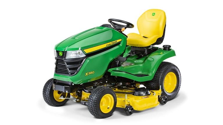 X380 Lawn Tractor with 48-in.Deck