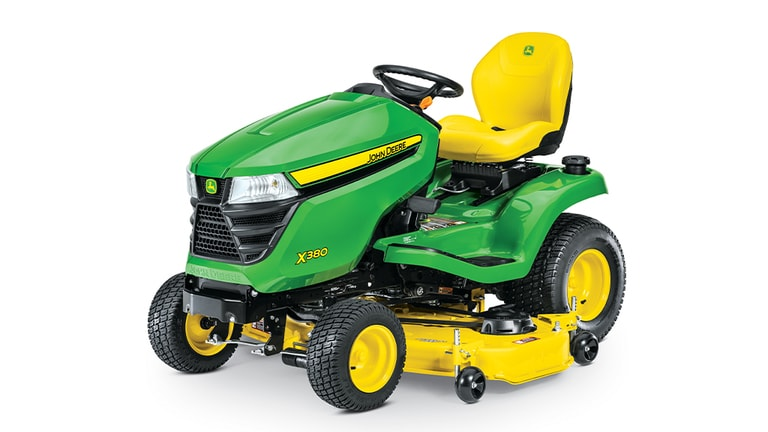 X380 Lawn Tractor with 54-in.Deck