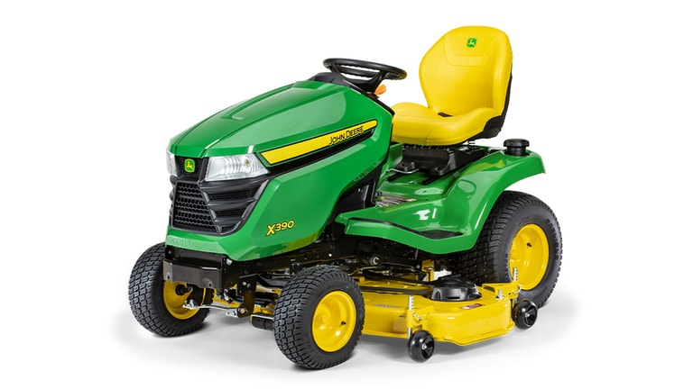 X390 Lawn Tractor with 48-inch Deck