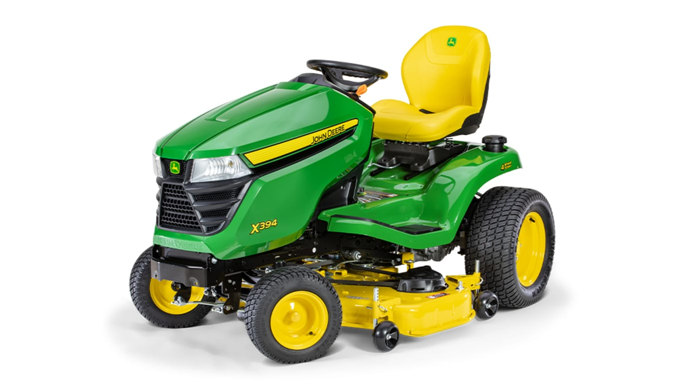X394 Lawn Tractor with 48-inch Deck