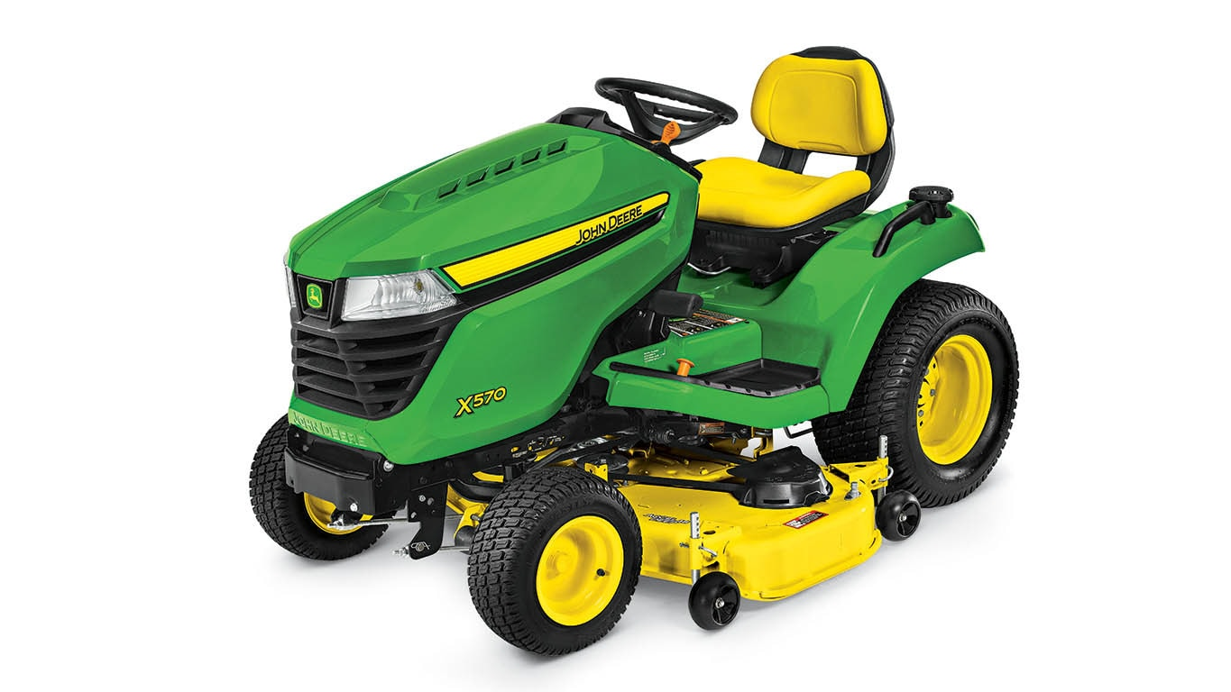 X570 Lawn Tractor with 54-in  Deck - New 54-inch Deck - Buck