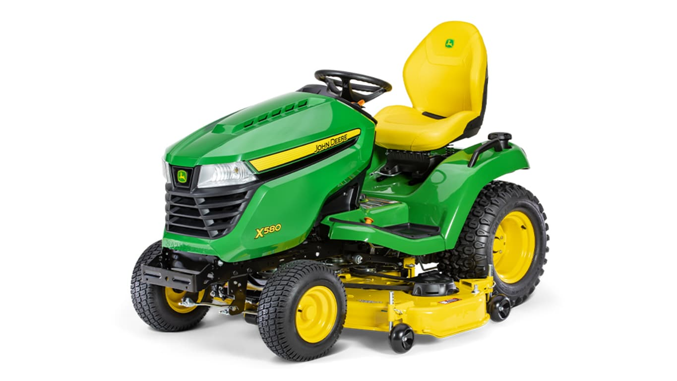 New X580 Lawn Tractor with 54-in. Deck