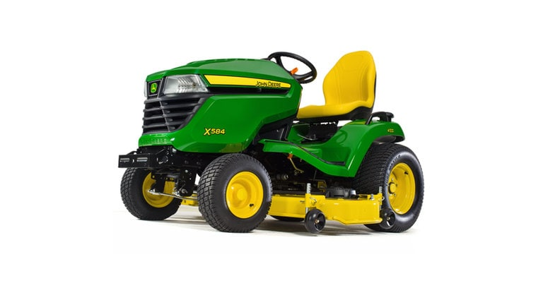 X584 Lawn Tractor with 48- or 54-in. Deck