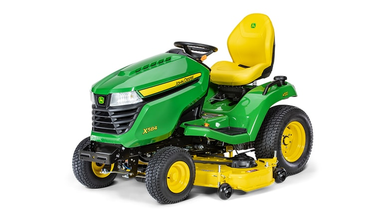 X584 Lawn Tractor with 54-in. Deck