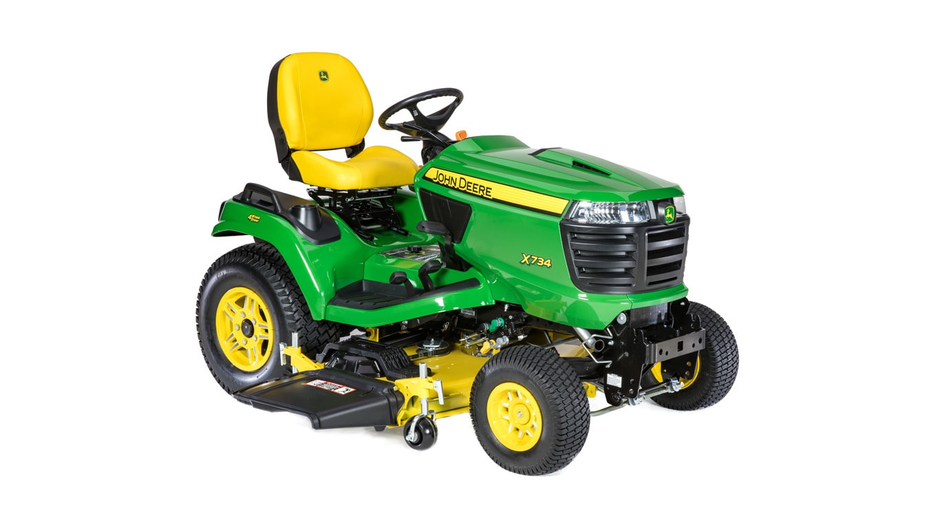 "X734 Signature Series Lawn Tractor With 54"" Deck"