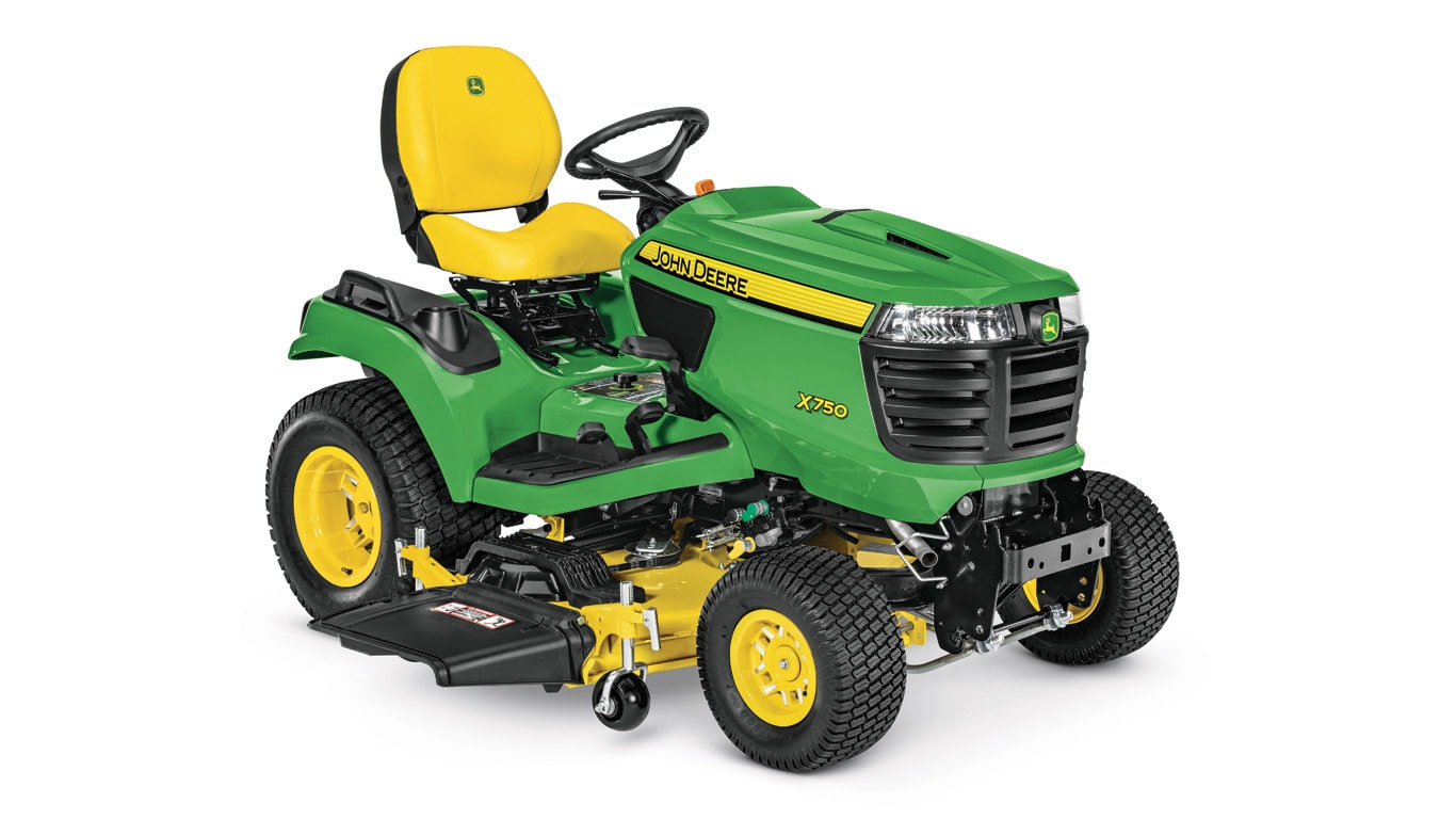 "X750 Signature Series Lawn Tractor With 54"" High Capacity Deck"