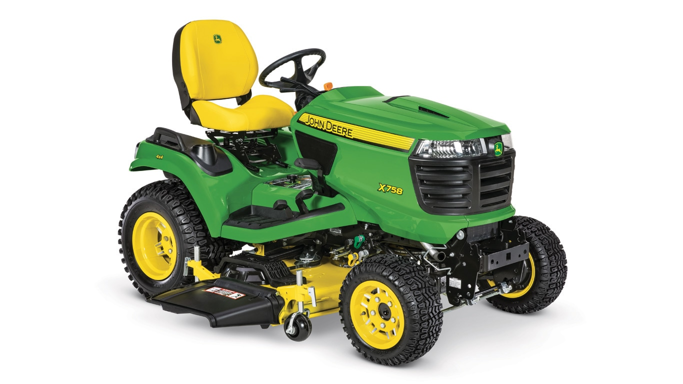 X758 Signature Series Lawn Tractor New Meade. New X758 Signature Series Lawn Tractor. John Deere. 52 John Deere D110 Parts Diagram At Scoala.co