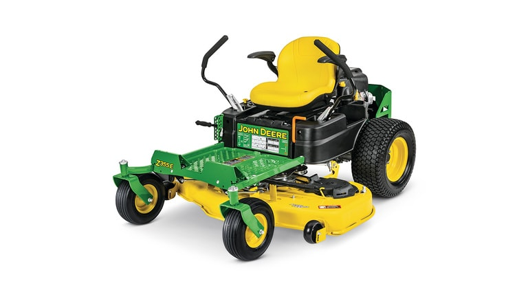 Z355E ZTrak™ Mower with 48-in.甲板