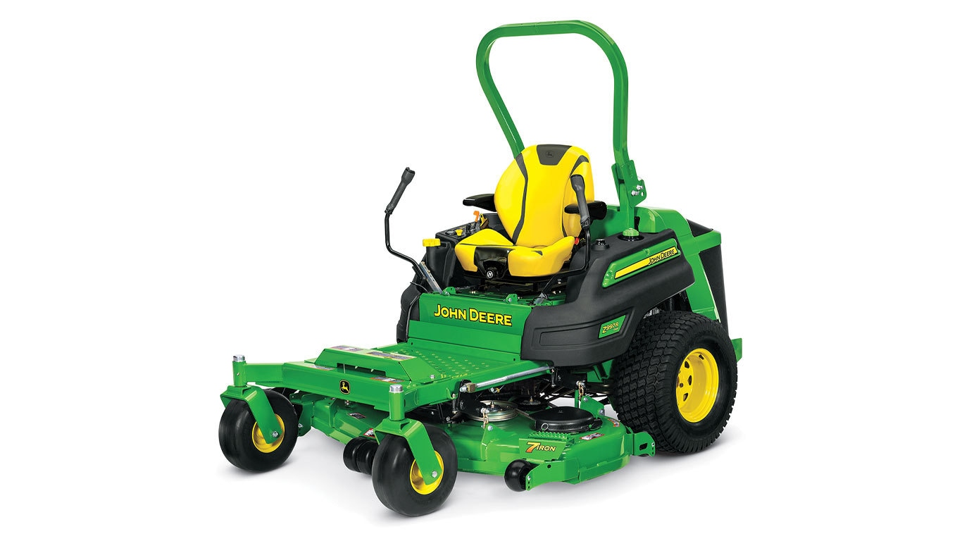 Lawn Mower Diesel : Z r diesel new mower trigreen equipment