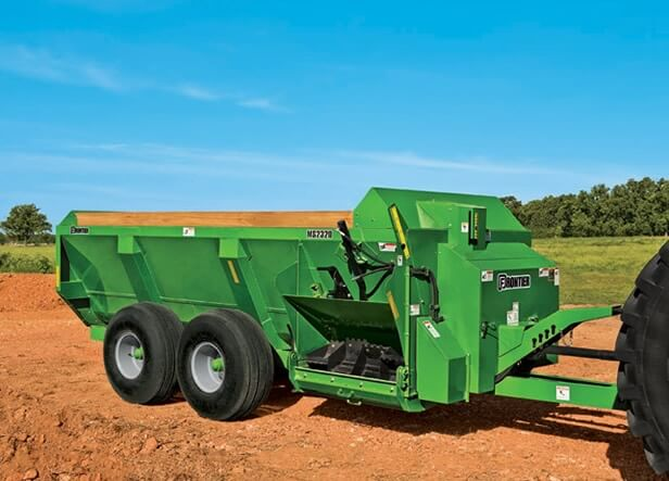 Ms23 Series Side Discharge Manure Spreaders New Frontier