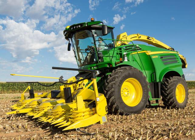 2018 John Deere 8600 Forage Harvester
