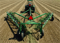 High-Capacity Wheel Rakes