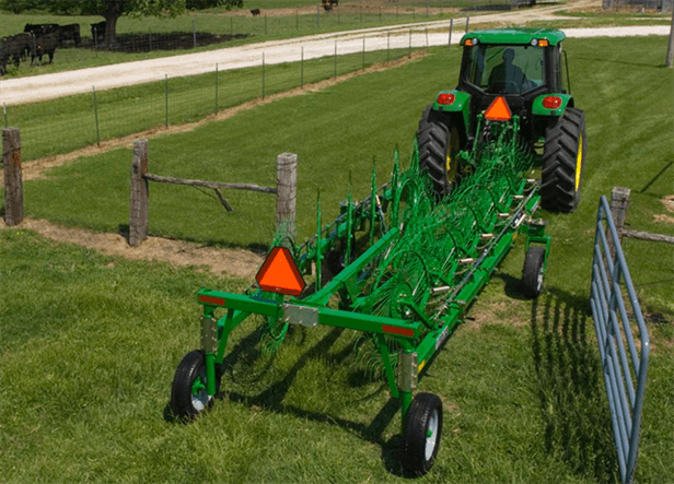 WR21 Series Wheel Rakes