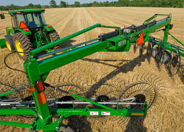 WR34 Series Wheel Rakes