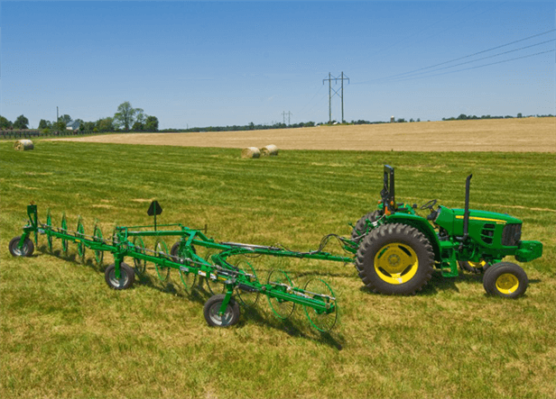 WR43 Series Wheel Rakes