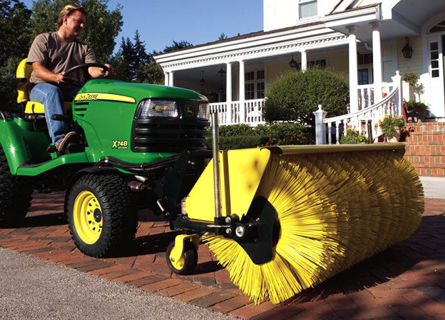 new 52 inch quick hitch rotary broom - Toms Lawn And Garden