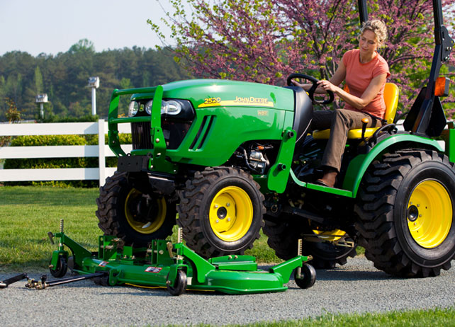54D OnRamp Mid-Mount Mower