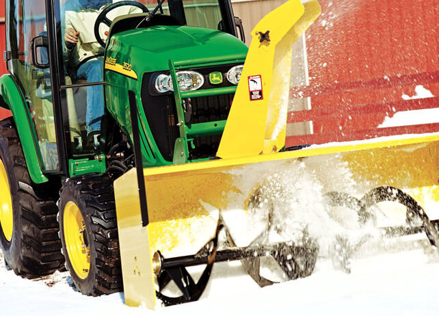 Blower Snow Removal Equipment : Snow removal equipment alliance tractor