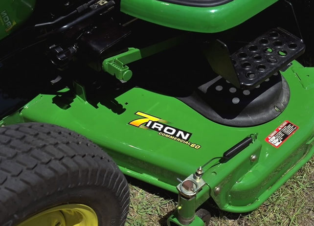 60-inch 7-Iron Mid-Mount Mower