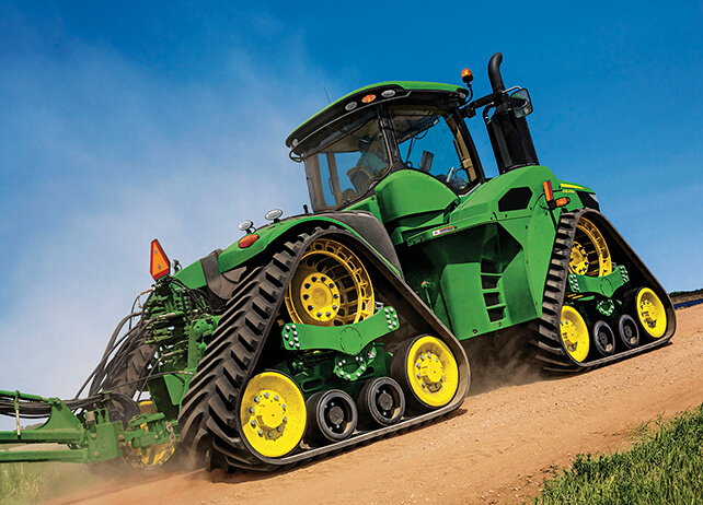 Four-Wheel-Drive Tractors