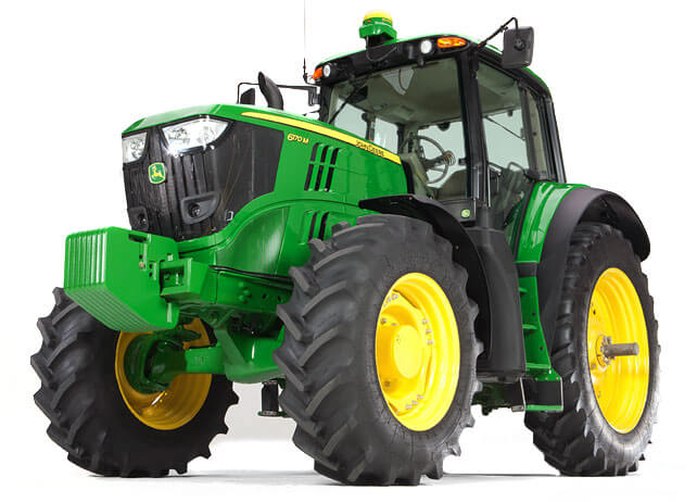 Row-Crop Tractors 99HP - 280HP / Loaders