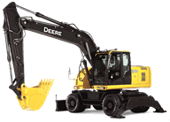 190D W Wheeled Excavator