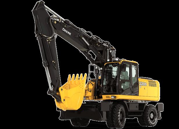 220D W Wheeled Excavator