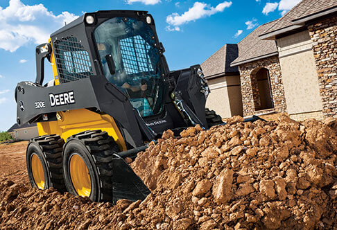 Skid Steers, Wheel Loaders and Excavators