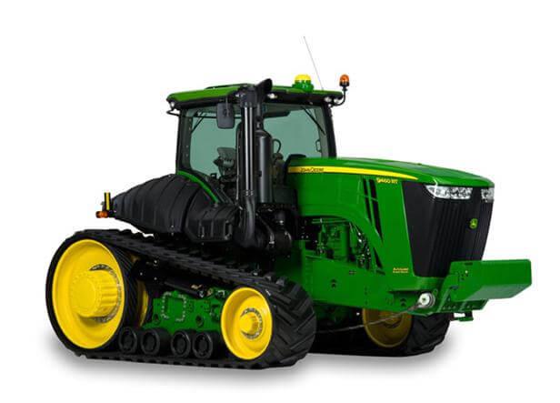 4WD & Track Tractors (370-620HP)