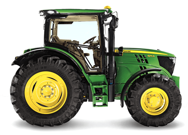 6115R Tractor - New 6R Series - Riesterer & Schnell Inc