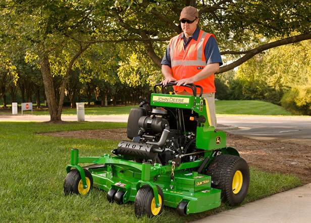 Stand-On Mowers | QuikTrak