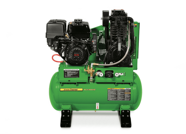 AC2-30GHS Stationary, Gasoline, Two Stage Air Compressor
