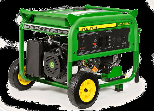 PR-G8000M-E Portable Generator