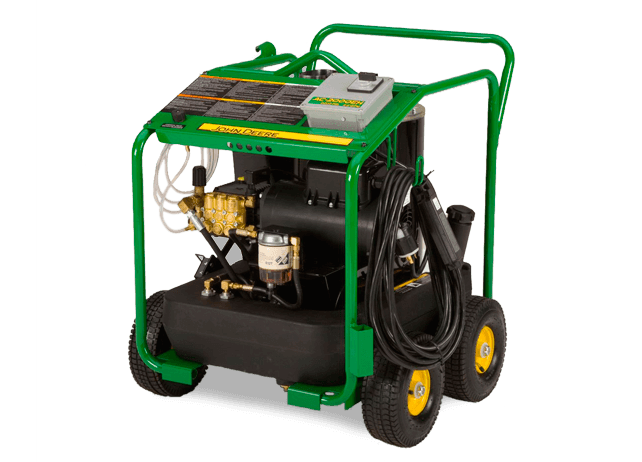 AC-2000EH Portable Oil Fired Direct Drive Pressure Washer