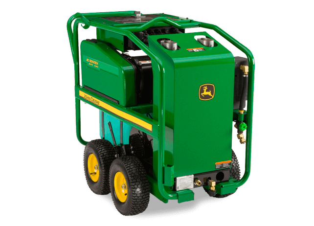 AC-3000EH Portable Oil Fired Belt Drive Pressure Washer