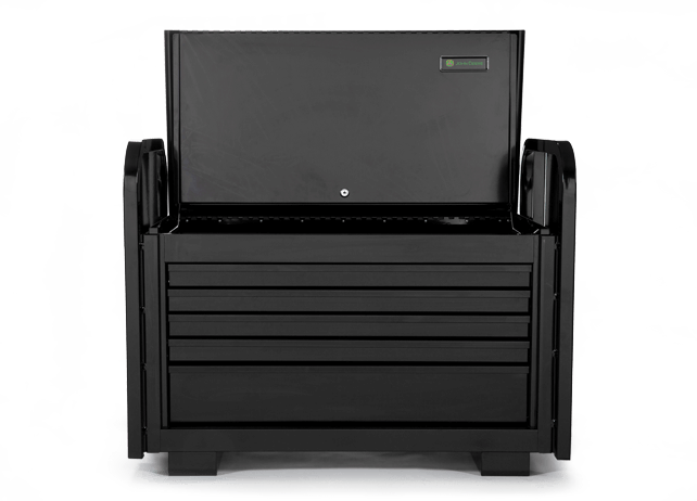 AC-3615RB-B 36-in.-wide, 5-Drawer Extra-Heavy-Duty Road Box Black