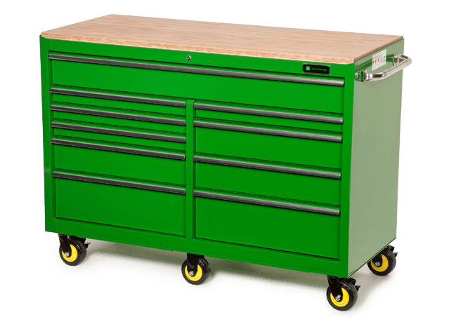 AC-5624CB-G 56-in., 10-Drawer Ball Bearing Cabinet