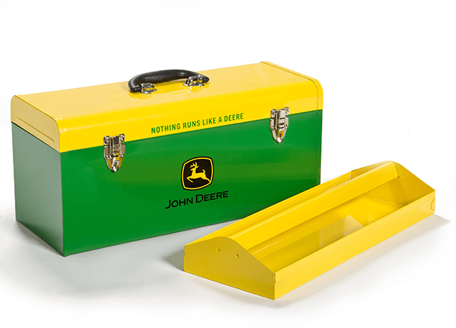 HR-20HB-2 20-in. Hand-Carry Toolbox Green with Yellow Lid