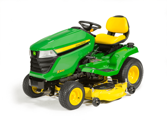 X300 Tractor with 48-inch Deck