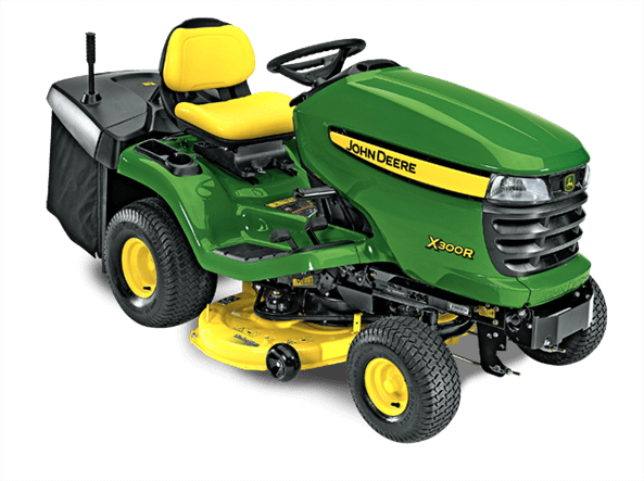 X300R Tractor with 42-inch Rear-Discharge Deck