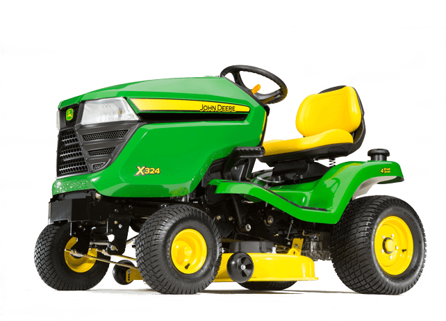 X324 Tractor with 48-inch Deck