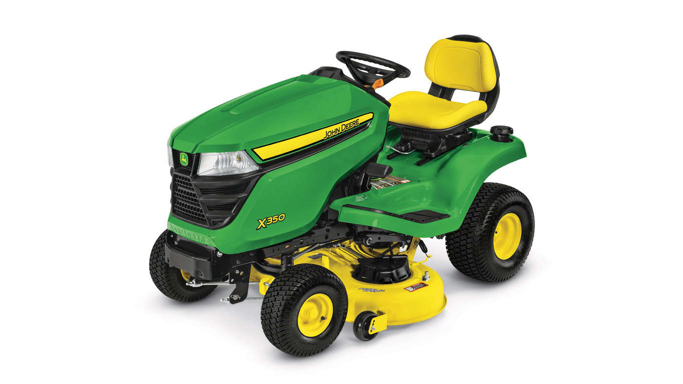 Save $300 on new John Deere X300 Select Series Riding Mowers from Meade Tractor