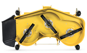 High-Capacity Mower Decks