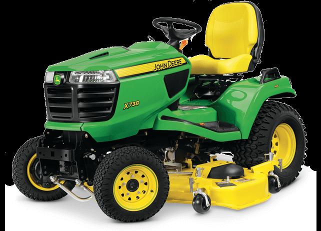 Lawn Tractors (4 Wheel Drive)